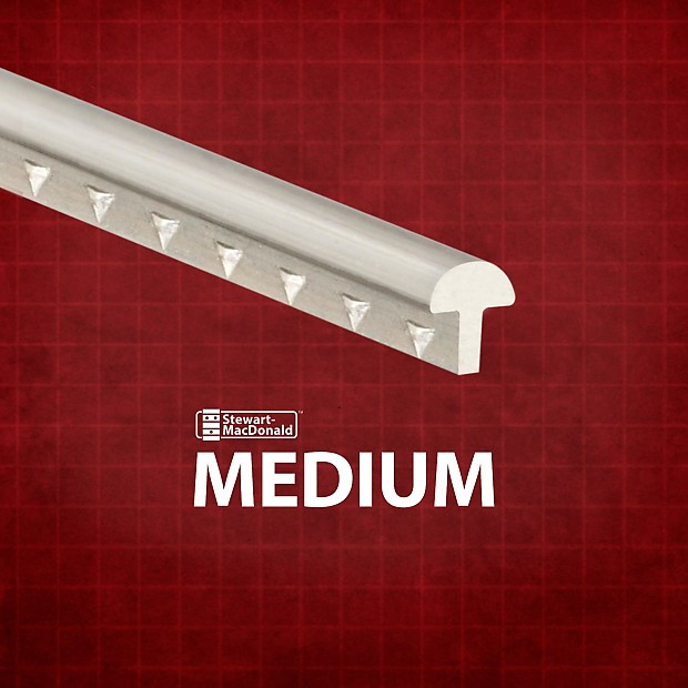 stewmac medium fretwire medium medium 68 foot pack 1 reverb. Black Bedroom Furniture Sets. Home Design Ideas
