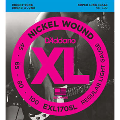 D'Addario EXL170SL 45-100 Bass 4 String Set