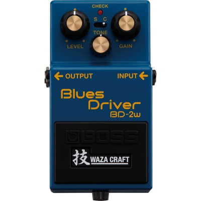 Boss Waza Craft BD-2W Blues Driver Pedal for sale