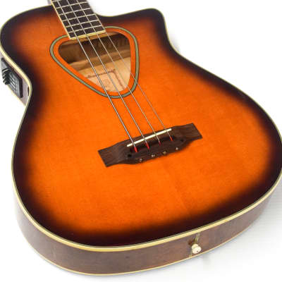 Hohner TWP600B Acoustic Electric Bass Sunburst for sale