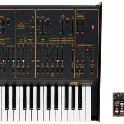Korg Limited Edition ARP Odyssey FSQ Duophonic Synthesizer & SQ-1 Step Sequencer Bundle - Rev 2