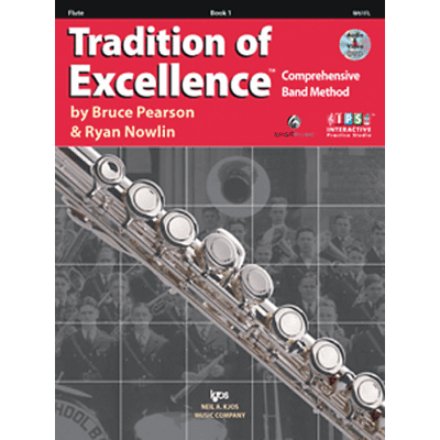 Tradition of Excellence Book 1 - Flute <W61FL> Neil A Kjos Music Company [ProfRev]