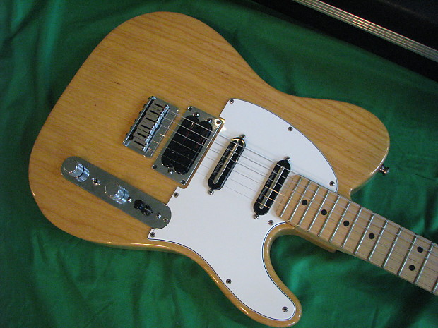 1992 fender usa telecaster deluxe plus natural finish with reverb. Black Bedroom Furniture Sets. Home Design Ideas