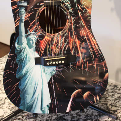Martin D16 Custom Shop (Lady Liberty) for sale