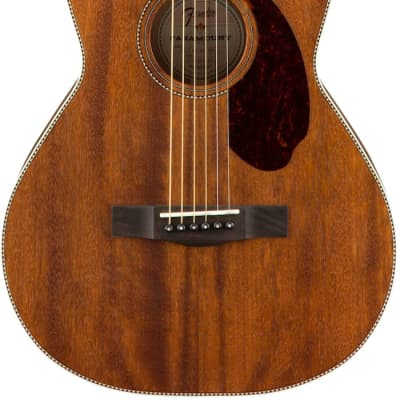 Fender Paramount PM-2 All-Mahogany with Ovangkol Fingerboard, and Case for sale