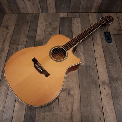 Crafter GAE-8 N Natural Electro Acoustic Guitar for sale