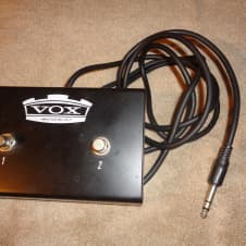 used Vox FS-2 2 button amplifier footswitch image
