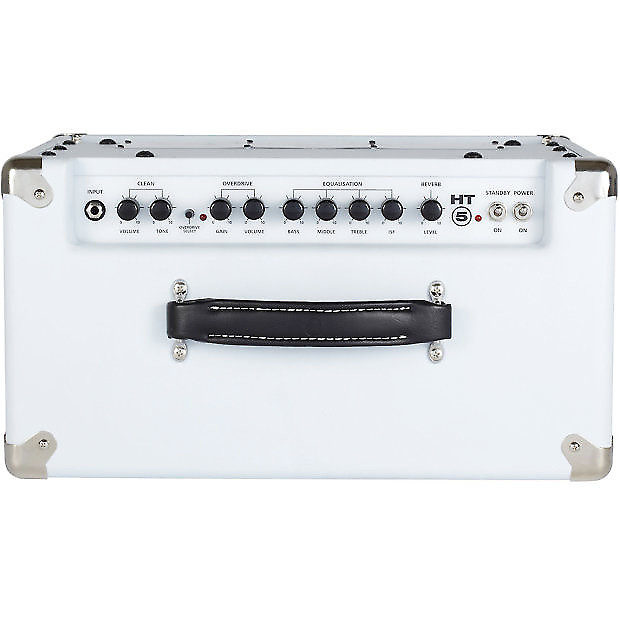 blackstar ht 5r 5w 1x12 tube guitar combo with reverb white reverb. Black Bedroom Furniture Sets. Home Design Ideas
