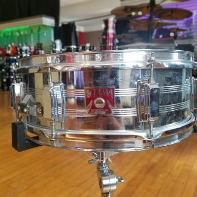 "Tama 7005 Swingstar 5x14"" 8-Lug Chrome Steel Snare Drum 1984 - 1988"