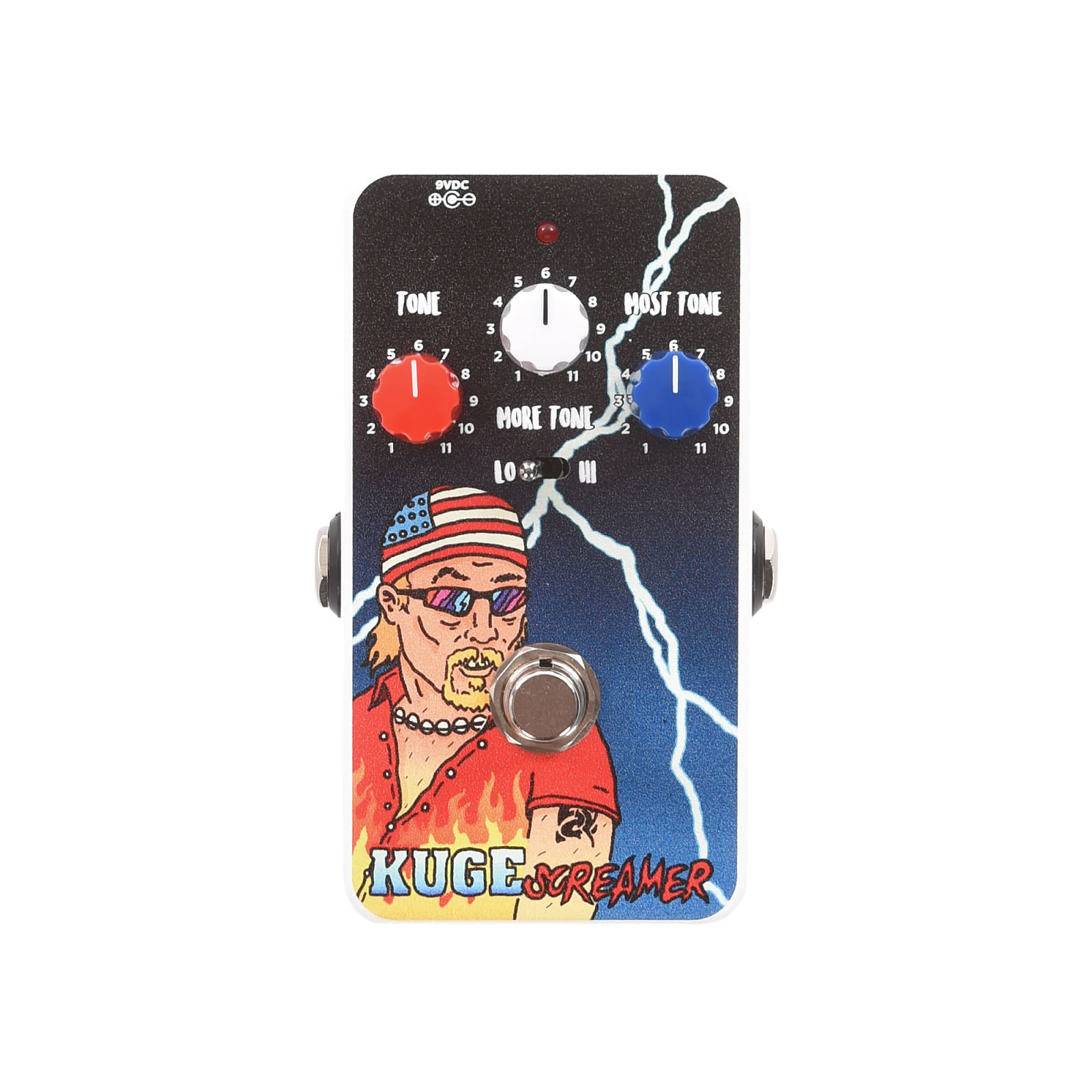 Chicago Music Exchange x Rigs Of Dad KugeScreamer Overdrive Pedal CME Exclusive