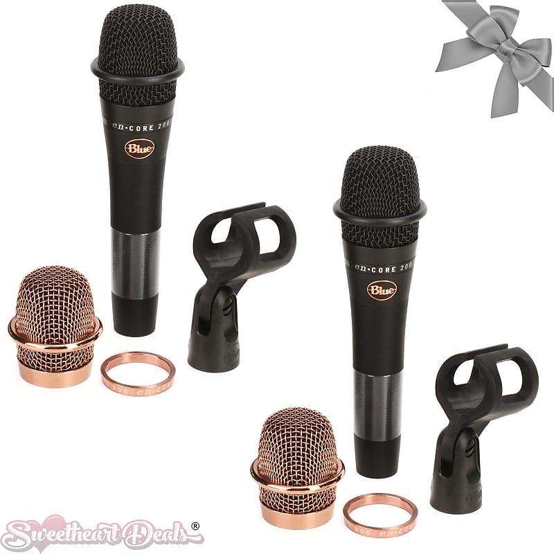 Active Dynamic Handheld Microphone Blue Microphones enCORE 200 Black