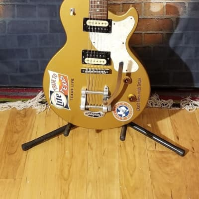 Robin Avalon Flat Top Limited Edition With Bigsby Tremelo 1999 Metallic Gold for sale