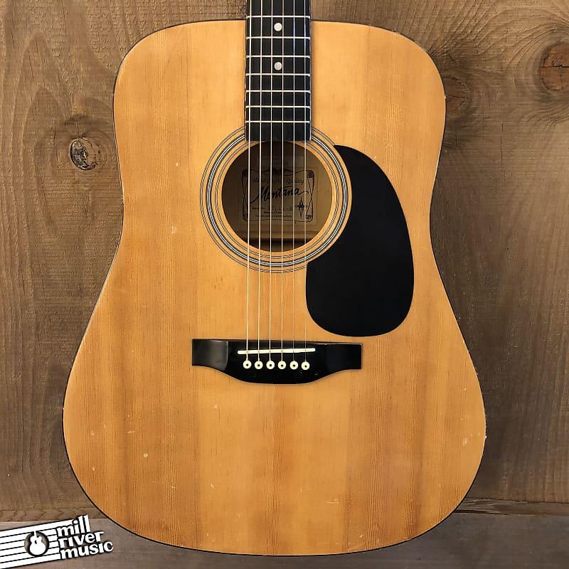 Montana M104 Dreadnought Acoustic Guitar Natural