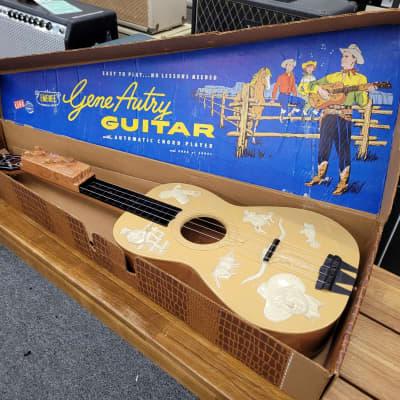 Emenee Gene Autry Cowboy Guitar (4-string) 1950s