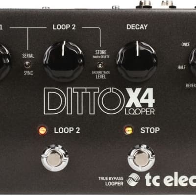 TC Electronic Ditto x4 Looper Effect Pedal for sale