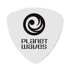 Planet Waves 2CWH4-10 Celluloid Guitar Picks  - Medium, Wide Shape (10-Pack)