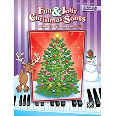 Fun & Jolly Christmas Songs - Book 3 (Intermediate/Late-Intermediate)