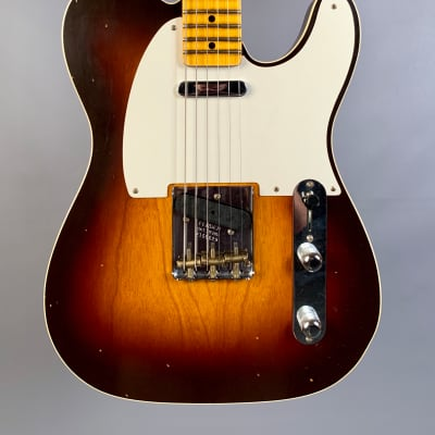 Fender Custom Shop Limited Edition Fat 50's Telecaster Custom Journeyman Relic Wide Fade Chocolate 2 for sale