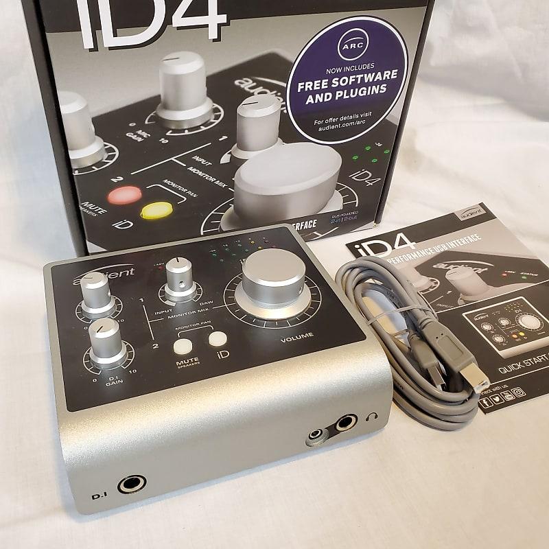 Usb Audio Interface Glitches : audient id4 desktop usb audio interface the good gear co op reverb ~ Vivirlamusica.com Haus und Dekorationen