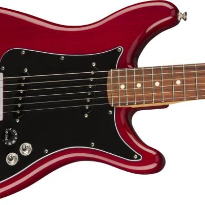 Fender Player Lead II Electric Guitar, Pau Ferro Fingerboard, Crimson Red Transparent for sale