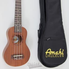 Amahi UK250S Peanut Mahogany Ukulele