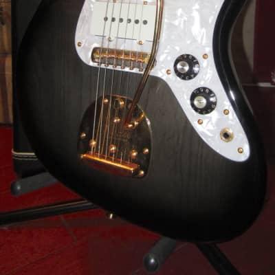 1996 Fender The Ventures Limited Edition Jazzmaster Transparent Dark Sunburst Clean for sale