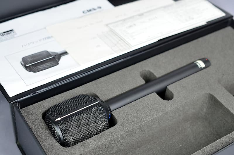 Sanken CMS-9 Stereo Condenser Microphone with case | Reverb