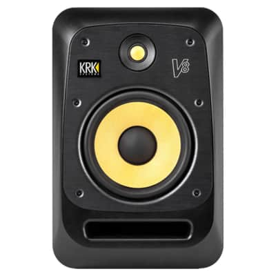 "KRK V8 S4 8"" Active Bi-Amped Recording 2-Way Studio Monitor Single (Open Box)"