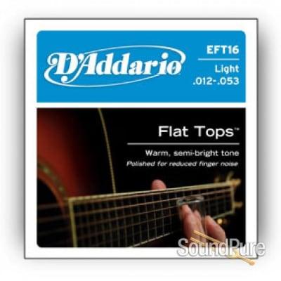 D'Addario EFT16 Light 12-53 Guitar Strings