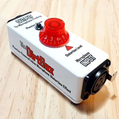 DrAlienSmith DirtBox, a Phantom Powered Distortion Effect For Microphones