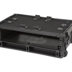 SKB 1SKB-iSF2U Molded 2U Studio Flyer Rack Case