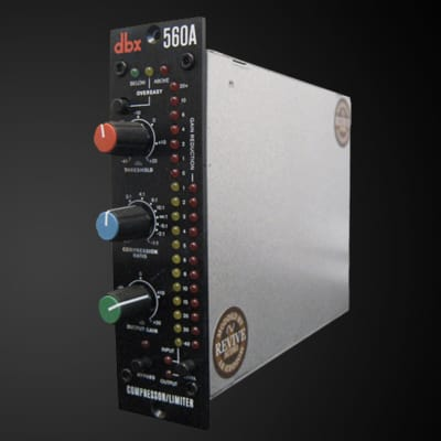Revive Audio Modified: Dbx 560a, Compressor/limiter, 500 Series 160 Module
