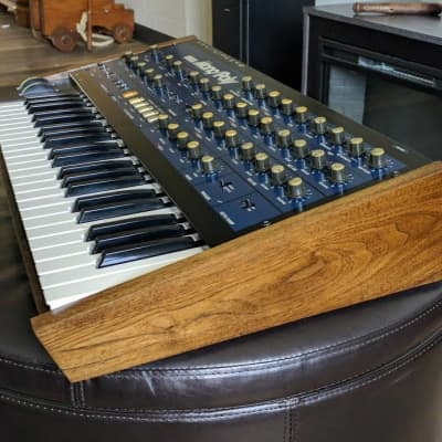Korg Mono/Poly Custom Synthesizer Replacement Solid Walnut Chassis / Body / Case