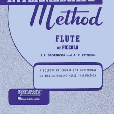 Rubank Publications Intermediate Flute Method