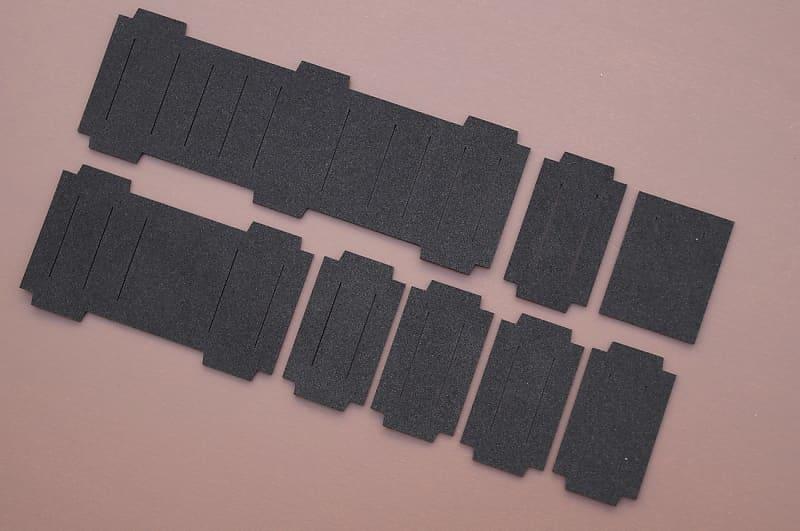 Slider dust covers set for Roland Jupiter 6