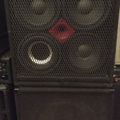 "Link Research 4x10"" With Tweeter Guitar/Bass Cabinet Black for sale"