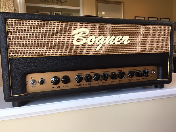 the best attitude sells outlet boutique Bogner Shiva 20th Anniversary KT88 90-Watt Guitar Amp Head
