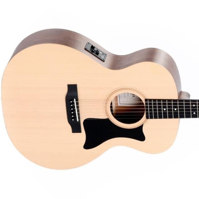 Sigma GME+ Semi Acoustic Guitar - Natural image