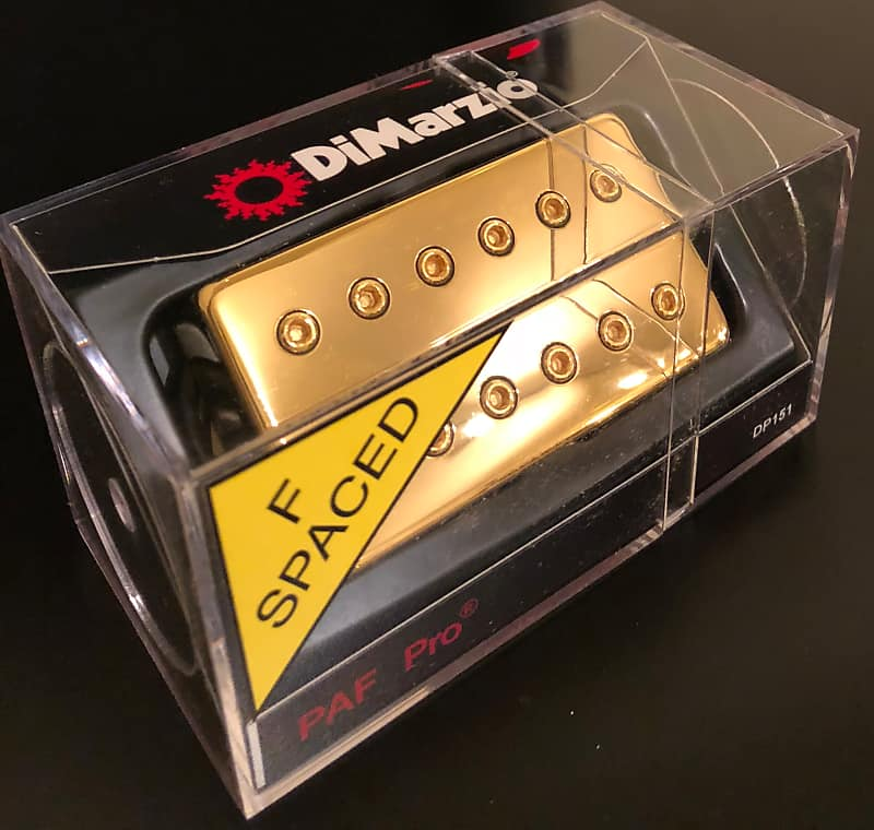Cool Dimarzio Paf Pro Gold F Spaced W Free Priority Shipping Reverb Wiring 101 Vieworaxxcnl