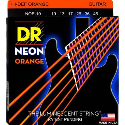 DR Neon Electric Strings 10-46 Orange