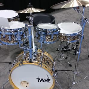 "Taye Go Kit 8"" / 10"" / 12"" / 18"" / 4x13"" Compact 5pc Drum Kit w/ Hardware"