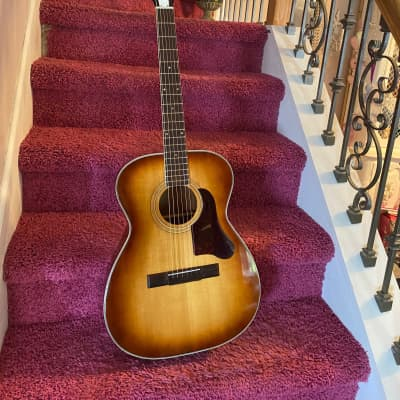 Barclay H1203 3    Vintage made by harmony vintage acoustic guitar  60s for sale