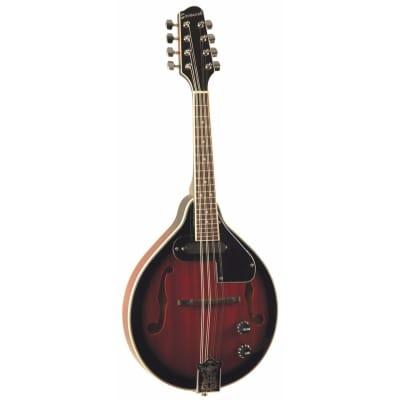 Savannah SA-115-E Madison A-Style Mahogany Electric Mandolin, Redburst for sale