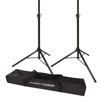 Ultimate Support Pair of Tripod Speaker Stands with FREE Carrying Bag, JS-TS50-2