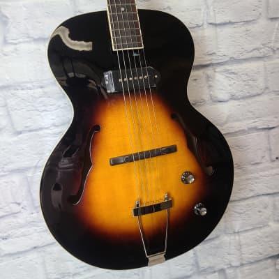 The Loar LH-309-VS Hollowbody Archtop Electric Guitar - Vintage Sunburst for sale