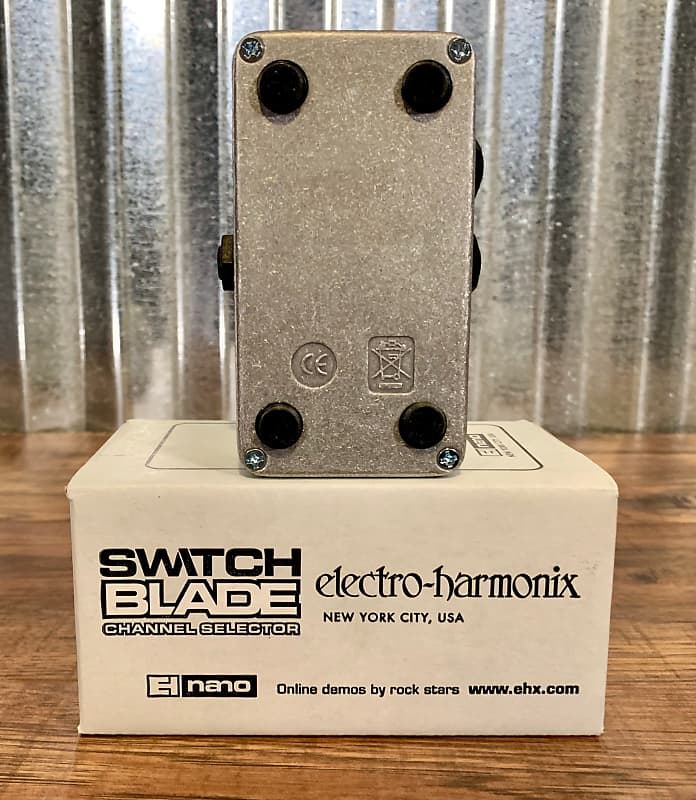 electro harmonix switchblade aby switcher guitar effect pedal reverb. Black Bedroom Furniture Sets. Home Design Ideas