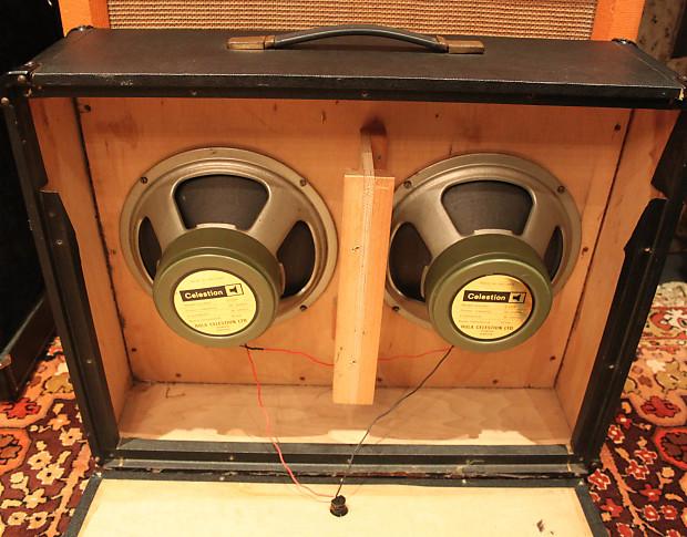Vintage 1973 marshall 2045 lead bass organ 2x12 speaker for Classic house organ bass