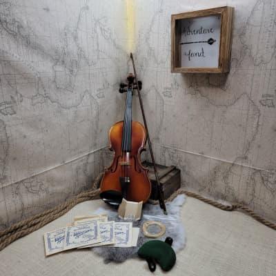 e r pfretzschner violin Antonius Stradivarius Copy 1961