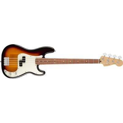 Fender Player Precision Bass 3 Tone Sunburst Pau Ferro for sale