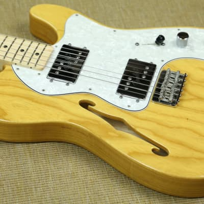 aa140f7977 Fender Classic Series '72 Telecaster Thinline - 2013 - Natural w/Deluxe Hardshell  Case